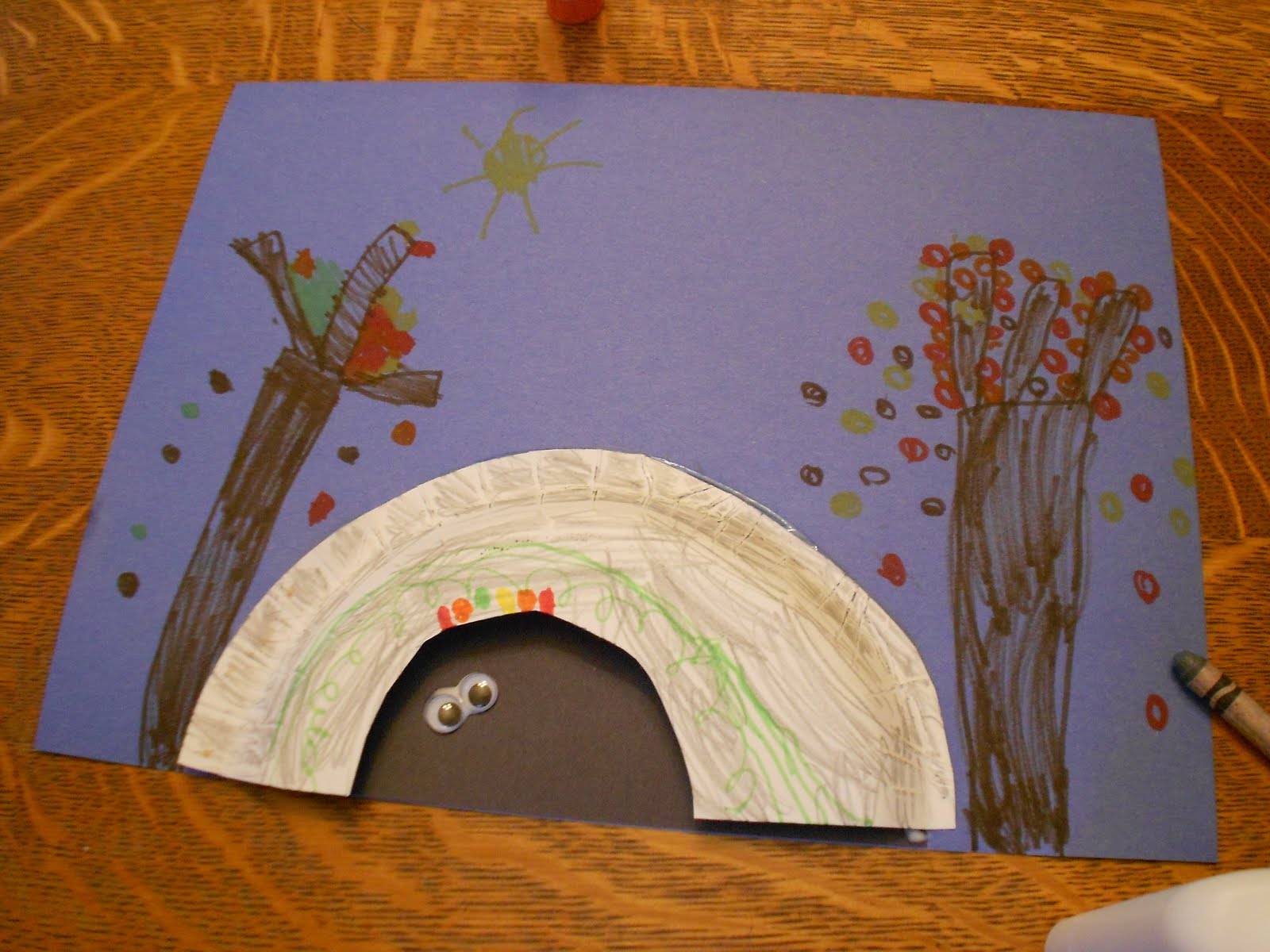 & Almost Unschoolers: The Bears Are Still Awake - Hibernation Craft
