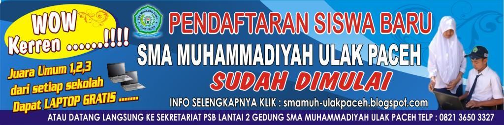 SMA Muhammadiyah Ulak Paceh