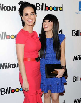Katy Perry & Carly Rae Jepsen Get Billboard Honors 2012