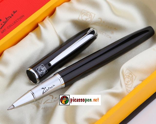 Bút ký cao cấp Picasso 916 - Bút dạ bi màu đen