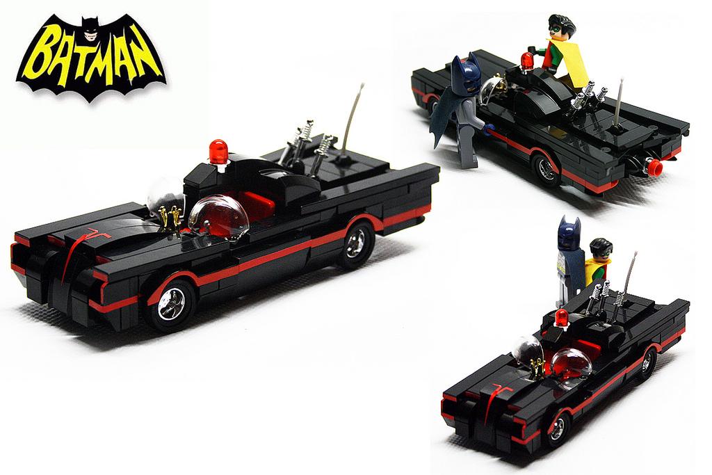 new batmobile based on the 1966 tv version batman. Black Bedroom Furniture Sets. Home Design Ideas