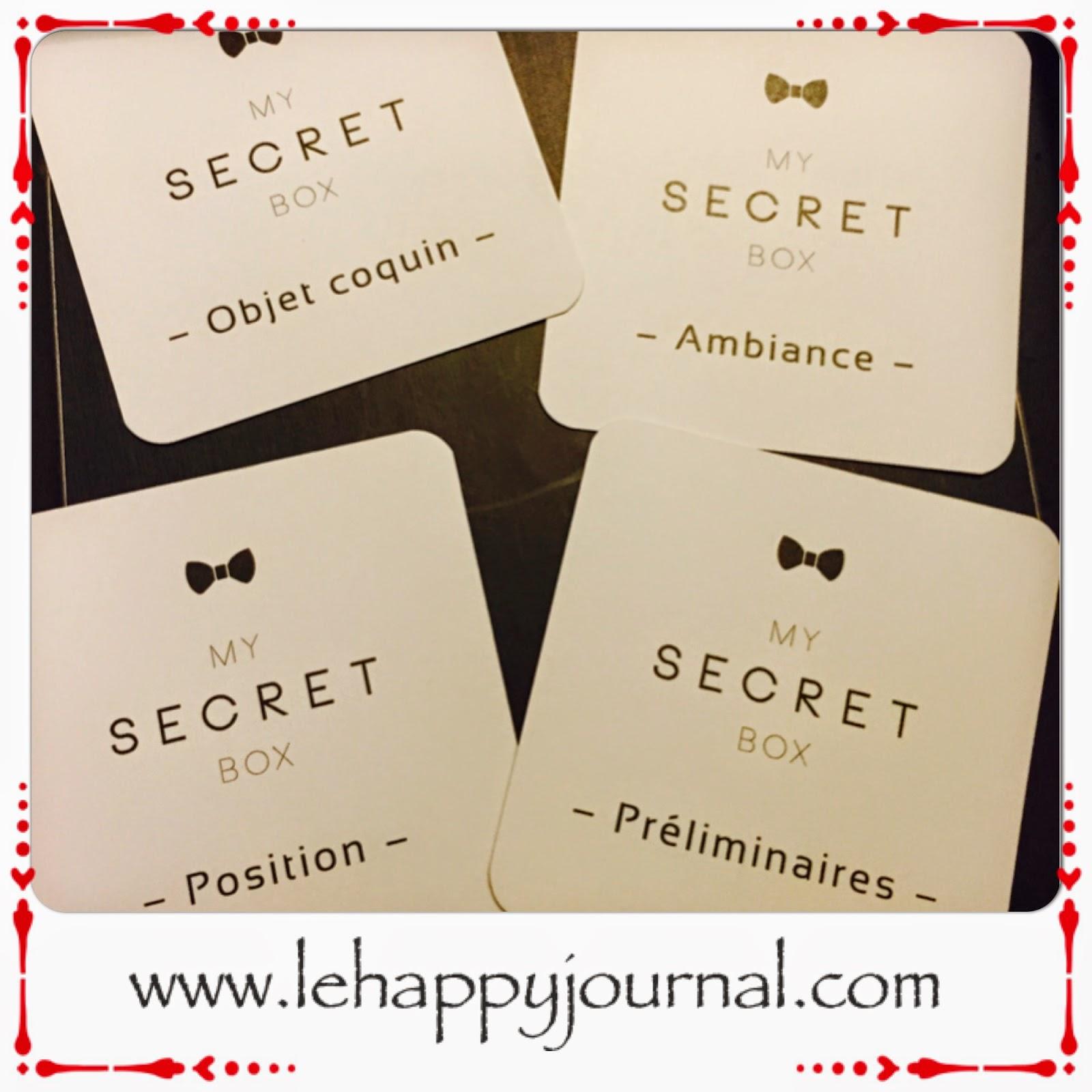 box, coquine, coffret, couple, heureux, sexe, partenaire, happy journal
