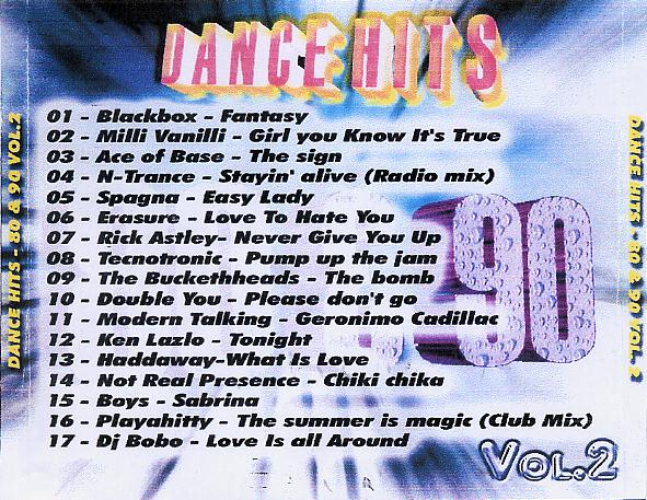Dance vs house dance hits 80 y 90 vol 2 for 90s house music hits