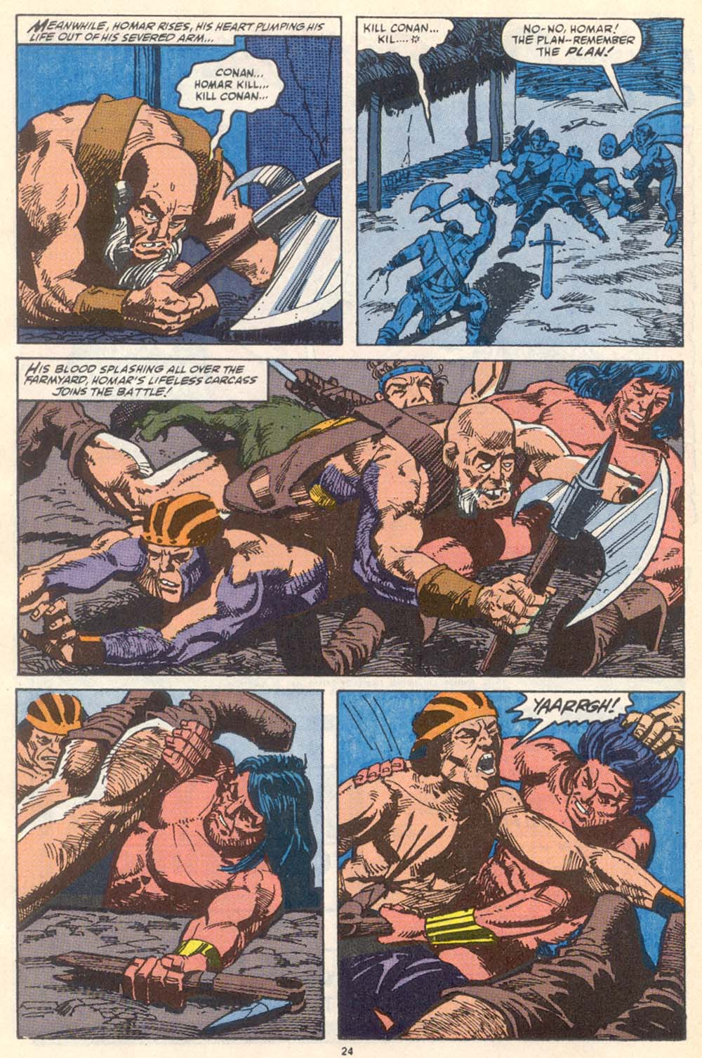 Conan the Barbarian (1970) Issue #222 #234 - English 19