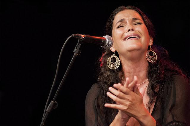 Sonia Miranda - Festival Flamenco de Almería - Patio del Colegio La Salle (Almería) - 25/8/2008