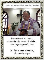 Doações para o Apostolado do Rev. Pe.Cardoso