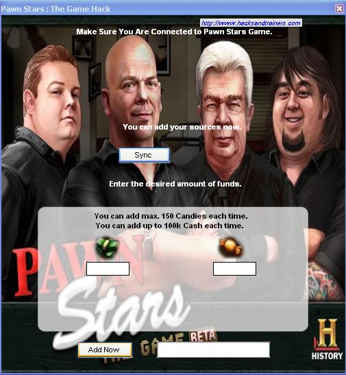 Pawn Stars : The Game Cheats Tool