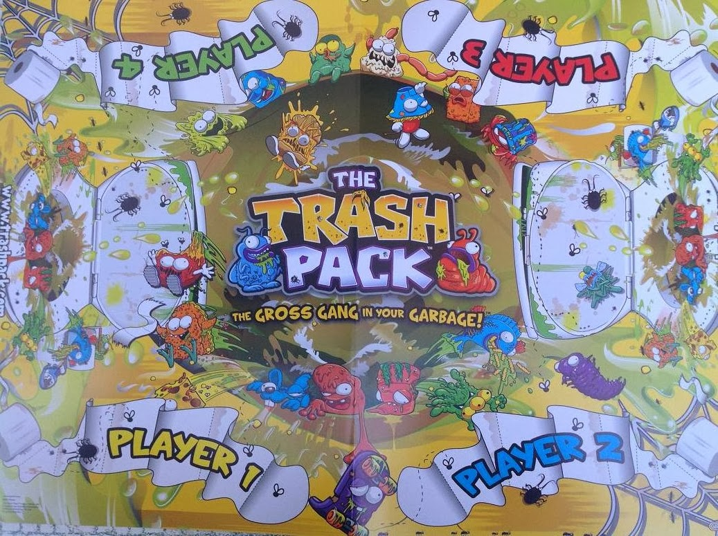 Trash Pack  2 Tablero
