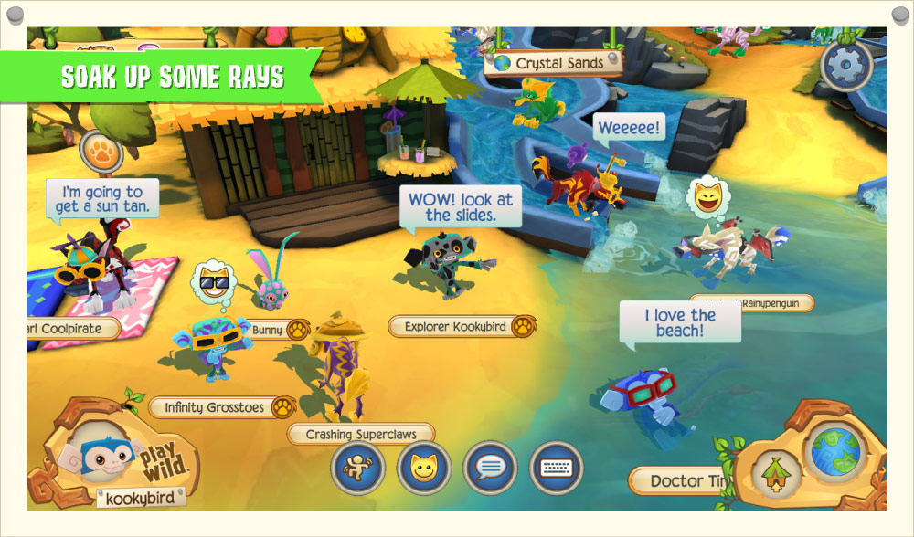 Image of: Jamaa Graphicsbackgrounds Animal Jam Graphic Central Animal Jam Graphic Central Play Wild App Guide beta Present