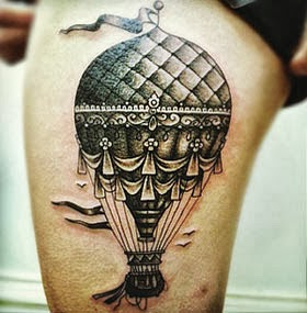 Fotos de tatuagens femininas na perna