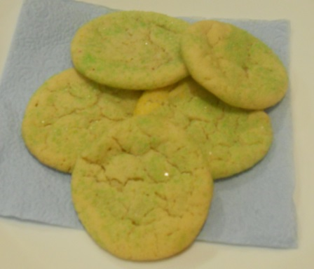 From the Kitchen of EGN – Super Easy No-Roll Sugar Cookies