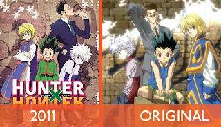 "Hunter X Hunter 2011 - Episode 1 ""Departure × And × Friends"""