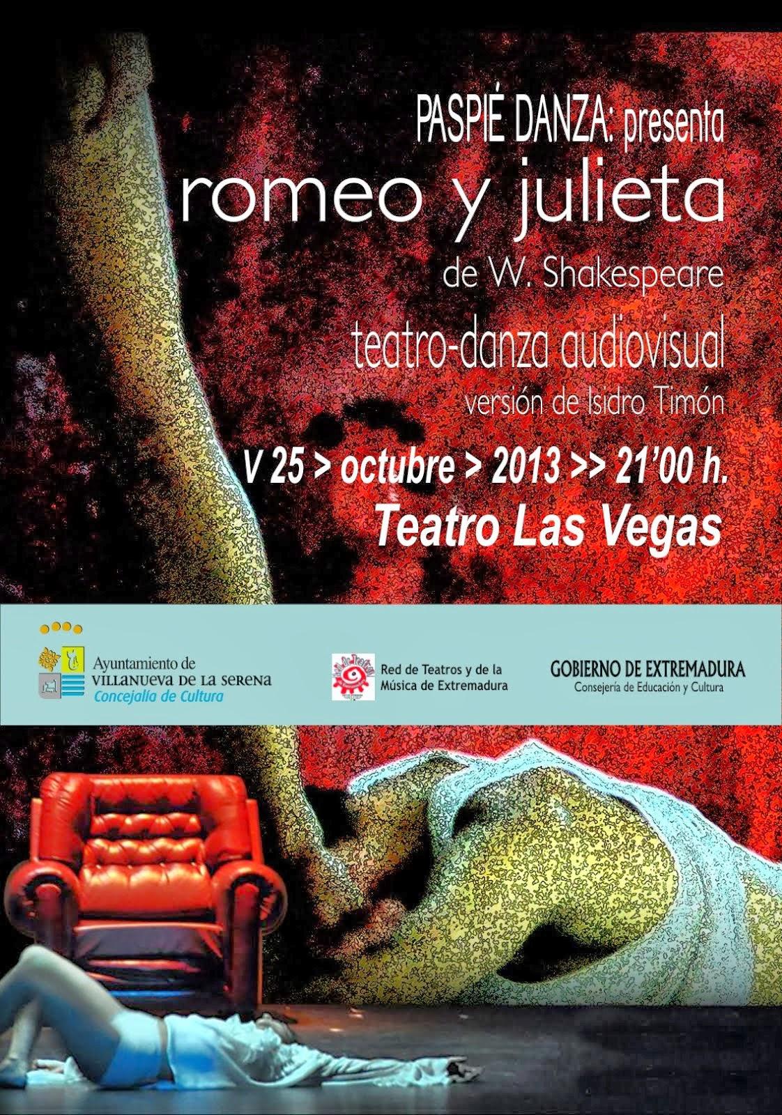 Teatro-danza: Romeo y Julieta