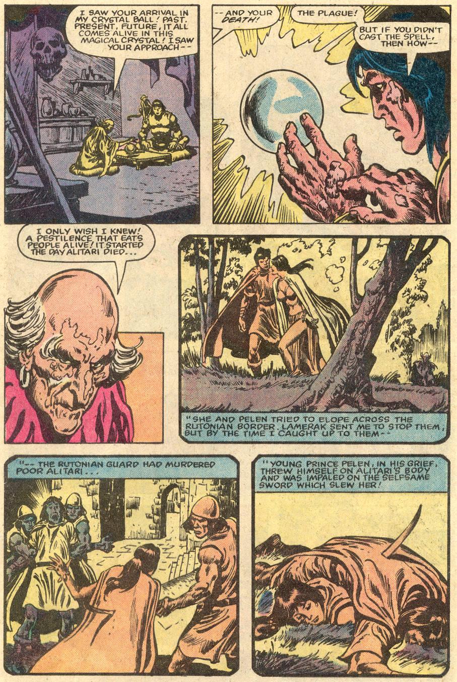 Conan the Barbarian (1970) Issue #148 #160 - English 10