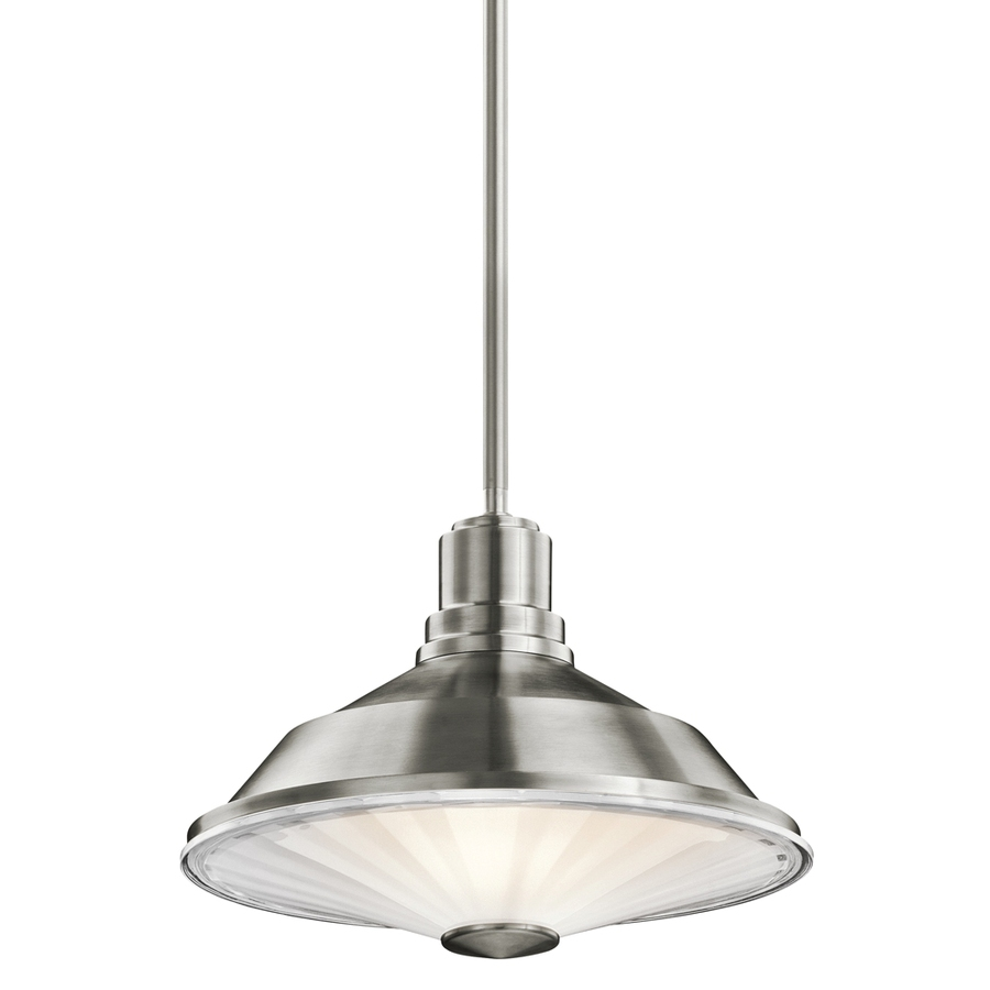 Stainless steel pendant light