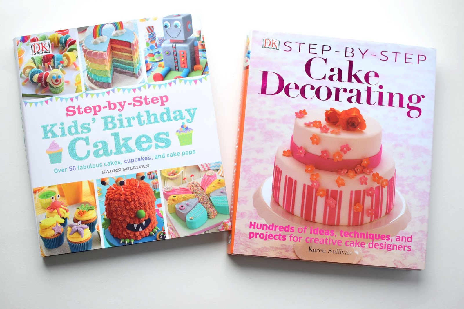 Step By Step Cake Decorating Book