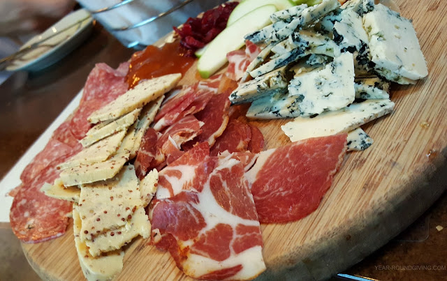 Meat and Cheese Tray at Crush Kitchen and Winehouse, Annapolis MD