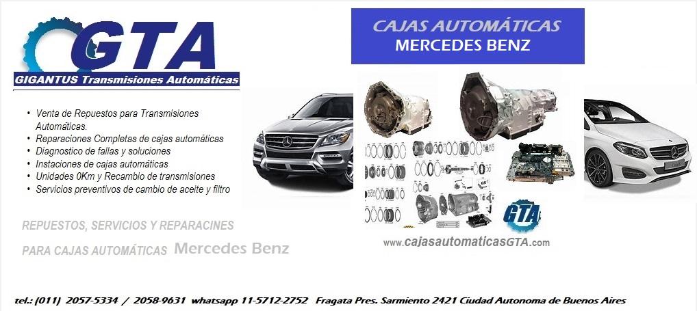 Cajas Automáticas Mercedes Benz