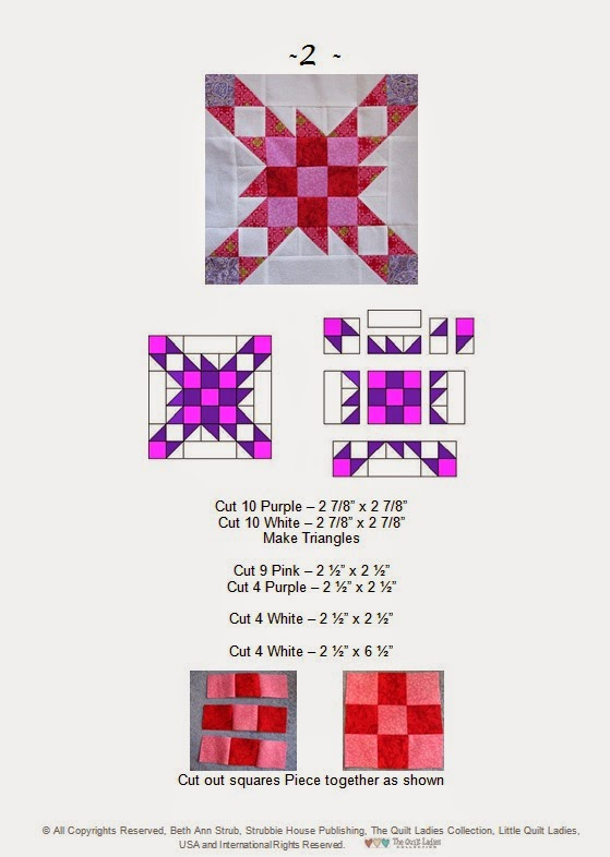 bear paw quilt pattern variation how to