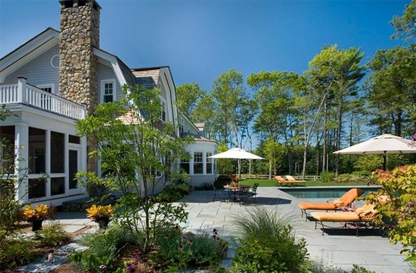 inpirasi desain taman rumah indah rancangan desain rumah