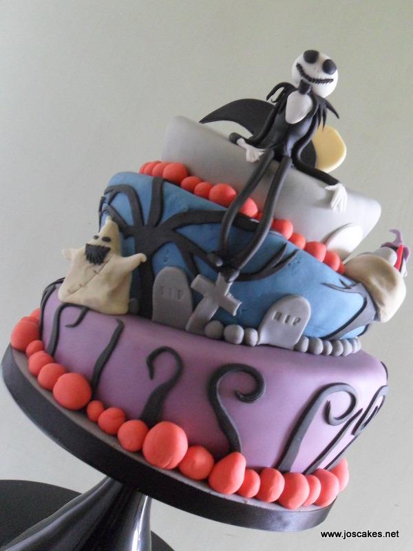 Jos Cakes Nightmare Before Christmas Birthday Cake
