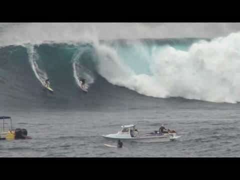 Jaws Wipeouts March 2014