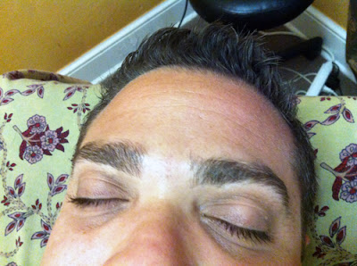 Men's Eyebrows before 2