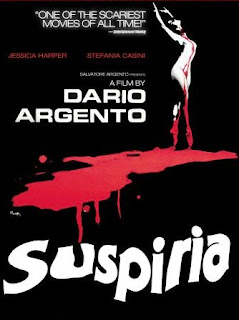 minimalist review of dario argento's 1970s horror classic Suspiria