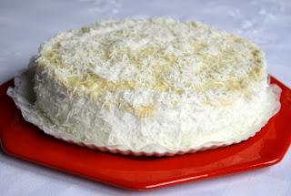 Torta de beijinho light
