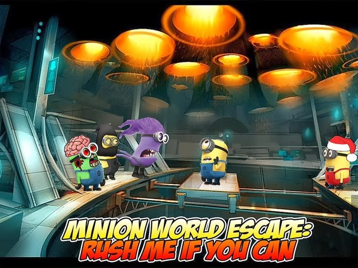 Minion World Escape: Rush Me If You Can HD Edition App iTunes App By  - FreeApps.ws