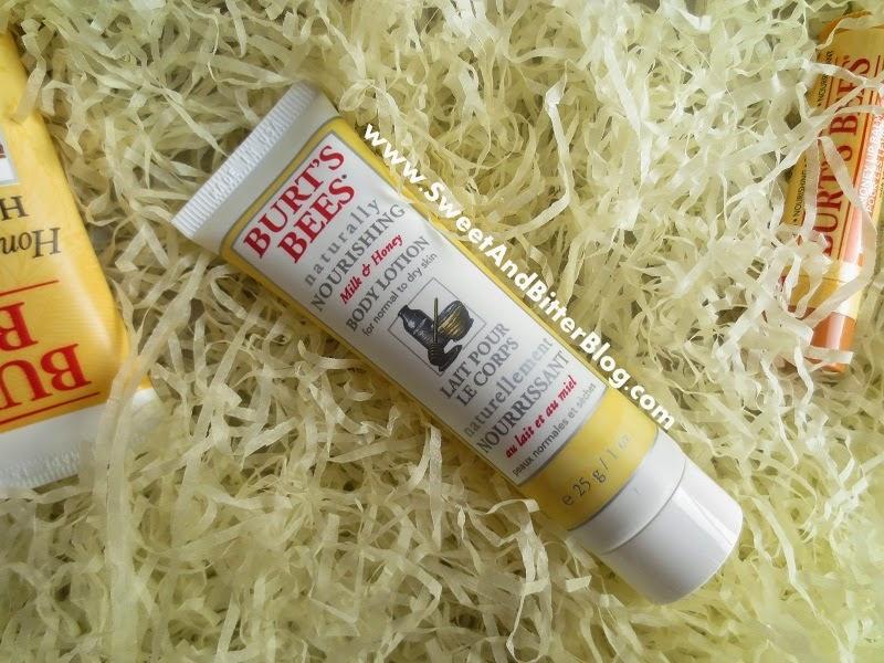 Burts Bee Naturally Nourishing Milk and Honey Body Lotion Review