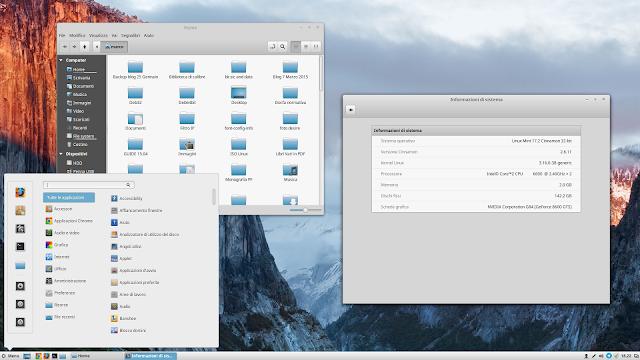 """Linux Mint 17.2 """"Cinnamon"""": la distro perfetta per l'utente alle prime armi"""