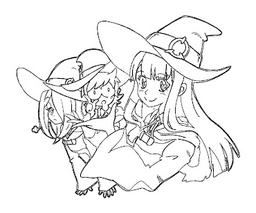 #7 Witch Coloring Page