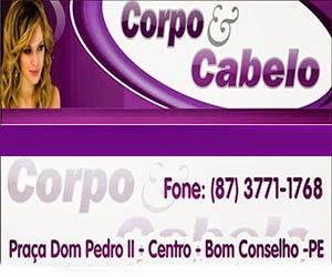 CORPO E CABELO