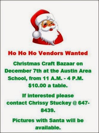 "12-7 Austin Class Of  ""2015"" Looking For Vendors"