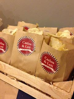 Bolsitas de patatas personalizadas