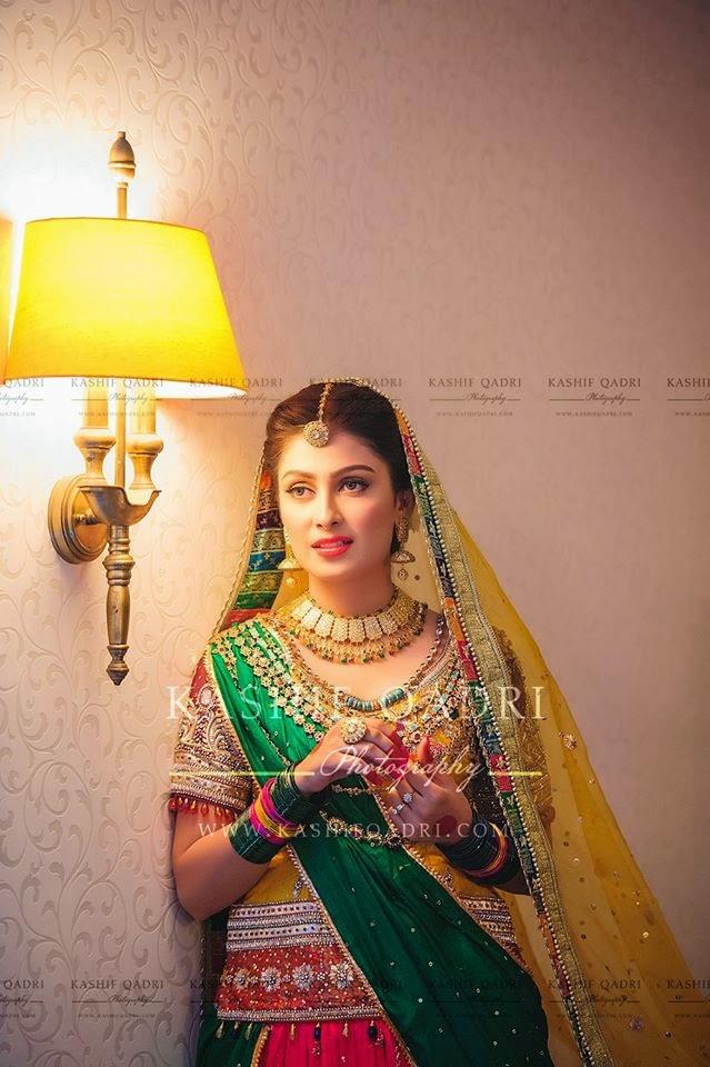 Bridal Mehndi Photo Shoot : Gapshap aiza khan s mehndi photoshoot