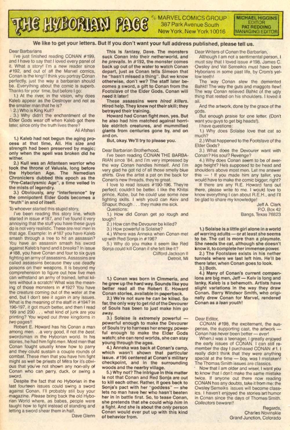 Conan the Barbarian (1970) Issue #203 #215 - English 25