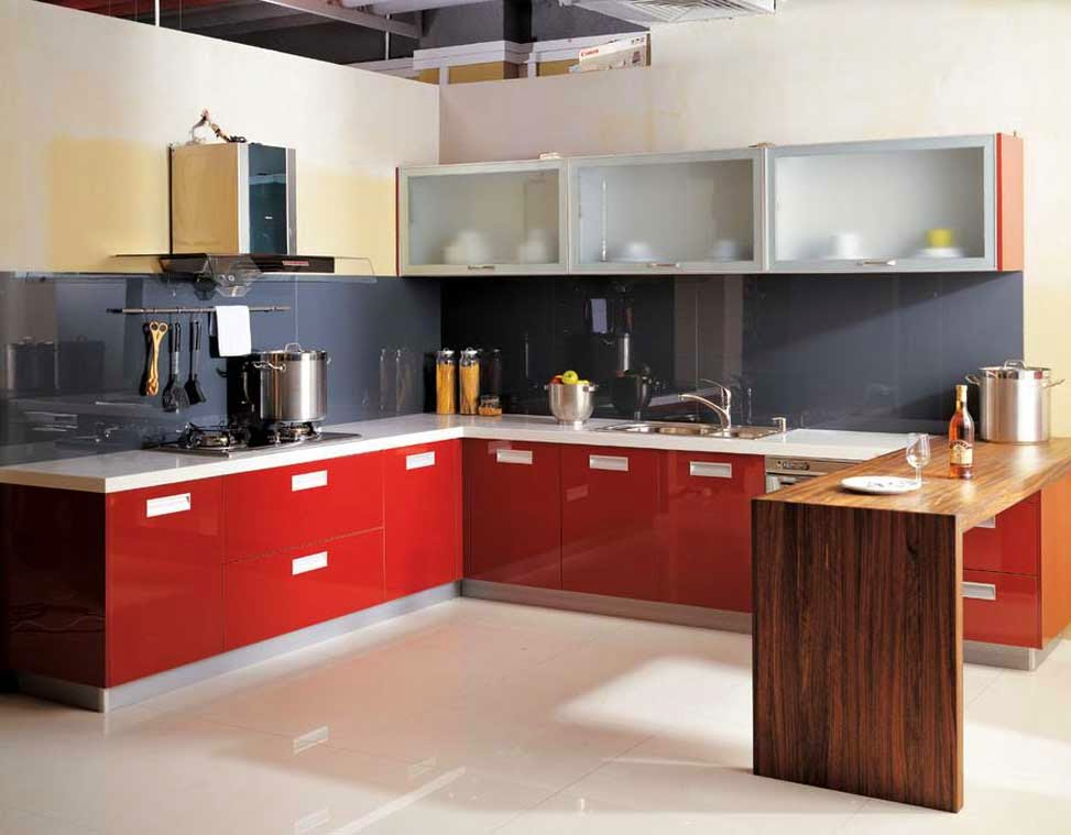 Design-Minimalist-Kitchen-Decorating-Angle-red-kitchen-Minimalist