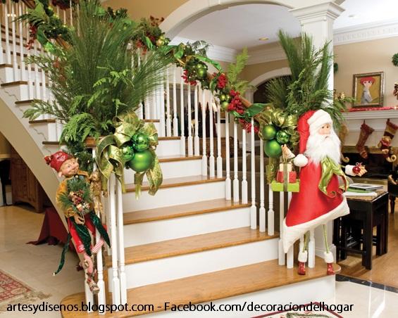 Como decorar escaleras para navidad decoraci n del hogar for Decoraciones para gradas