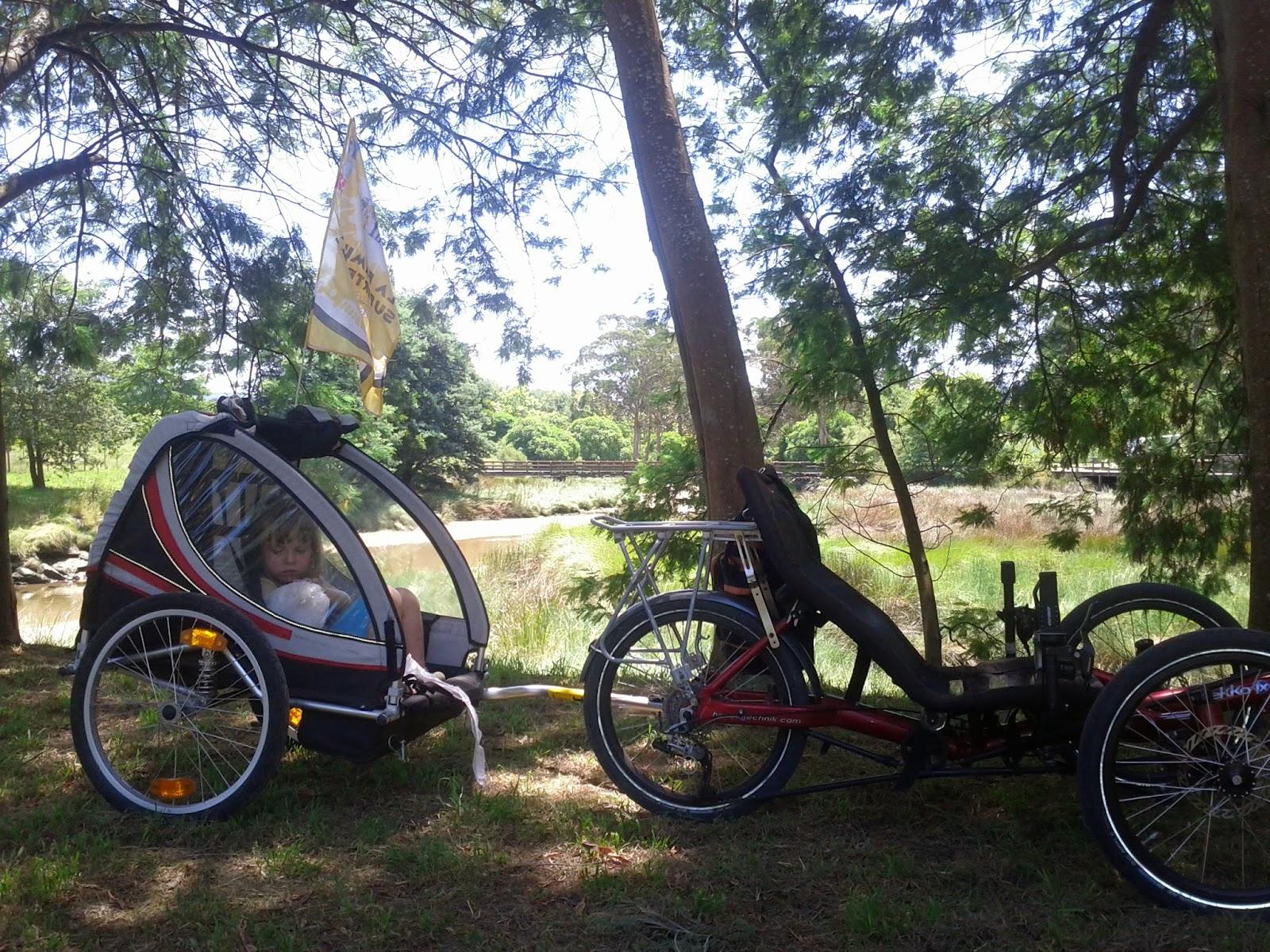 recumbent trike trail Familia Supertramp