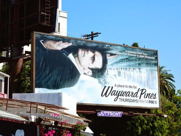 Wayward Pines season 1 billboard