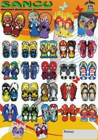 brosur sandal sancu terbaru