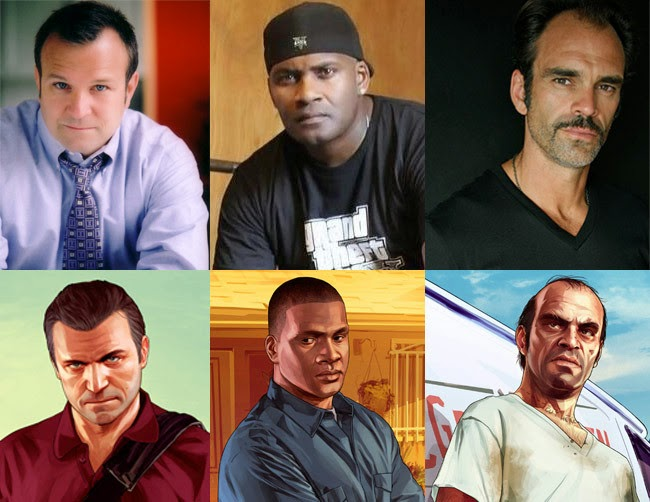 voice actors for gta v