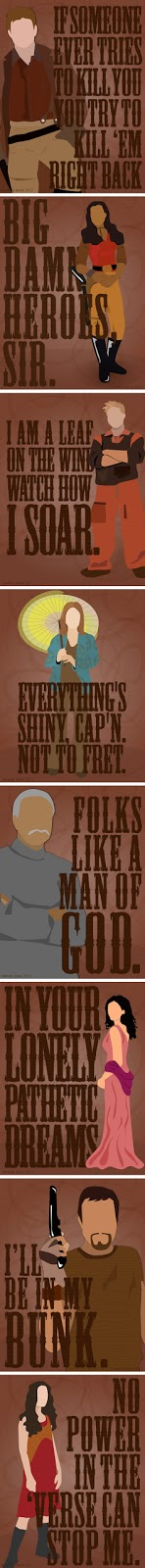 Firefly Portraits: The Crew of Serenity