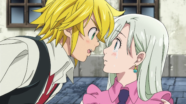 Nanatsu no Taizai, Meliodas, Elizabeth, Ulasan, Review, Anime, The Seven Deadly Sins, Anime 2014, Anime Terbaik, Rekomendasi Anime,