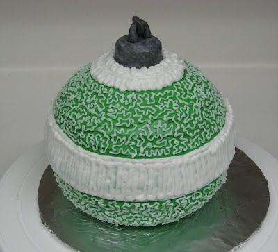 Christmas Ornament Cake - Side View 2