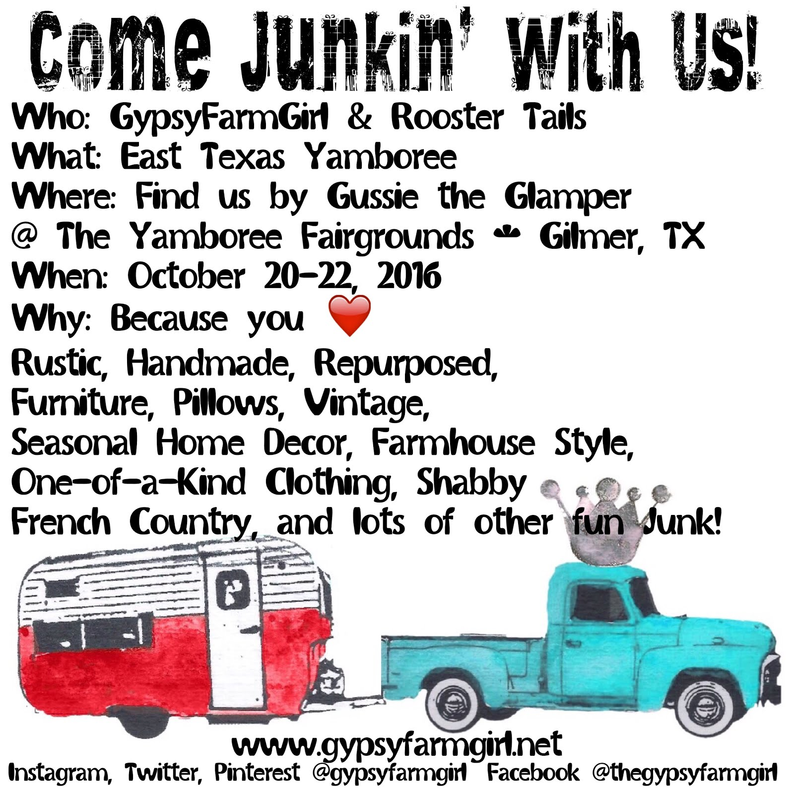 Come Junkin' with Us!