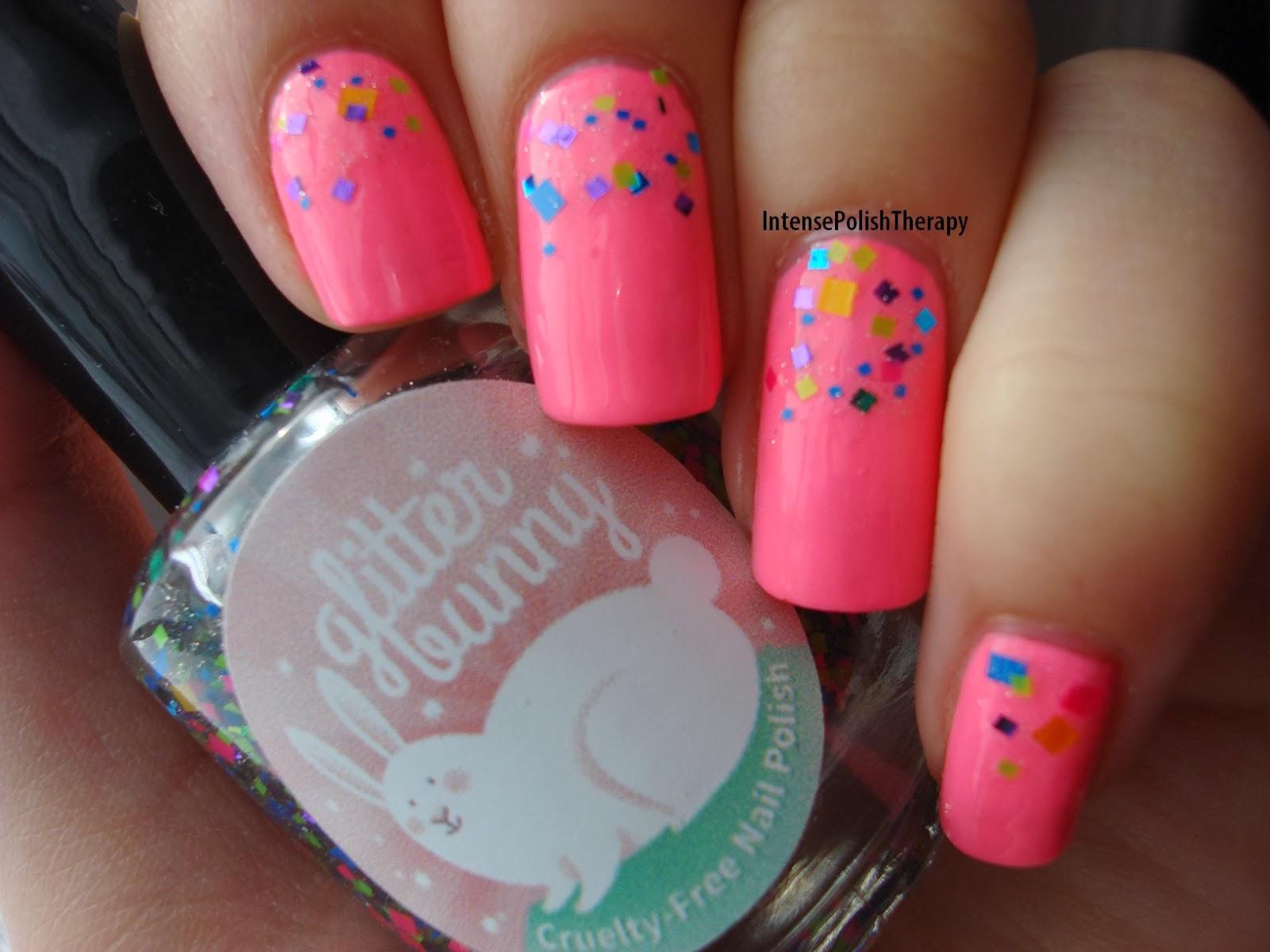 Ceramic Glaze - Tropical Guava & Glitter Bunny - I Got a Goodie Bag