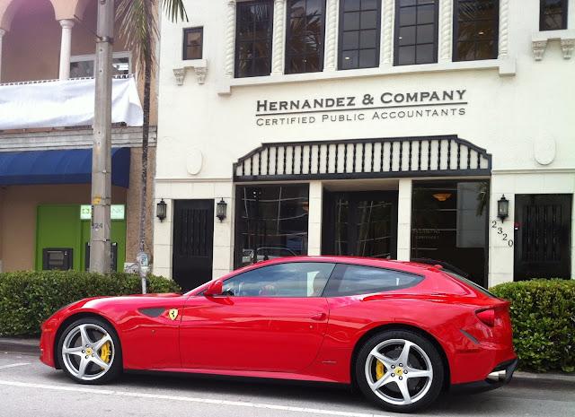 Beautiful Gables Sports Cars #1: Red+ferrari+FF.JPG